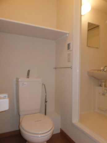 レオパレスすみれ 201号室のトイレ