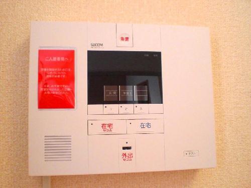 レオパレスラ グレージュ 206号室のセキュリティ