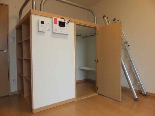 レオネクストグレープヒルC 103号室の収納