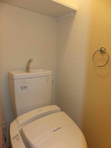 レオネクストグレープヒルC 105号室のトイレ