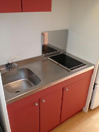 レオパレスグランダーム 109号室のキッチン