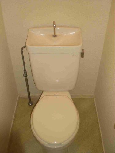 レオパレス浅間台 203号室のトイレ