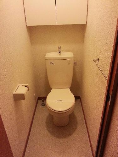 レオパレス岡Ⅱ 104号室のトイレ