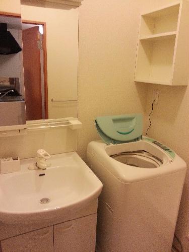 レオパレス岡Ⅱ 104号室の洗面所