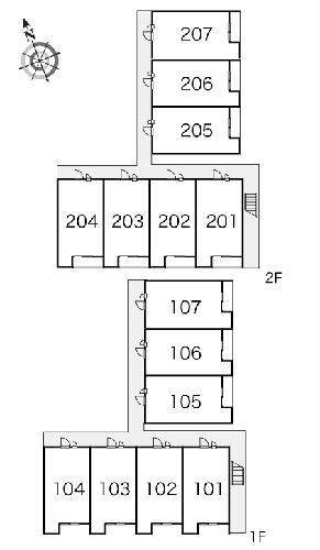 レオパレス岡Ⅱ 104号室のその他