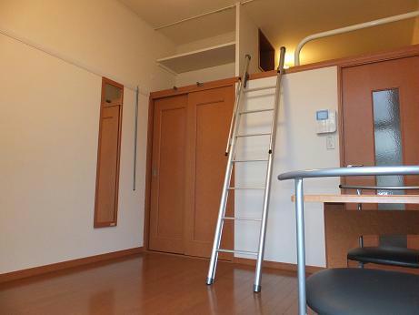 レオパレスグレープヒルA 102号室のリビング