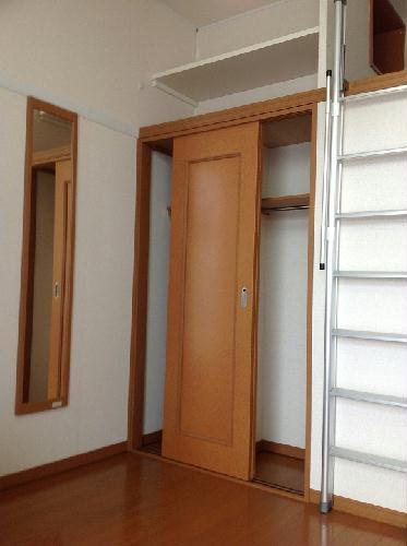 レオパレスグレープヒルA 102号室の収納