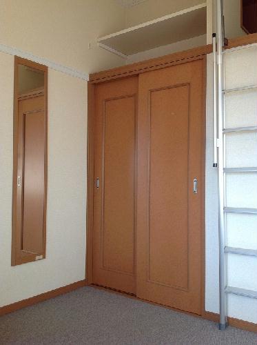 レオパレスグレープヒルA 202号室の収納