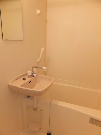 レオパレスグレープヒルA 202号室の風呂