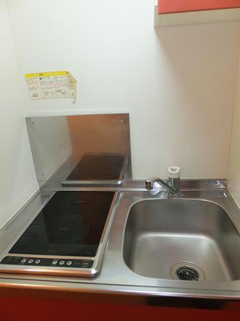 レオパレスグレープヒルA 202号室のキッチン