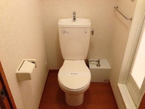 レオパレス花咲の丘Ⅱ 216号室のトイレ