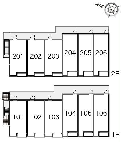 レオネクストヴィラージュ碧水Ⅱ 202号室のその他