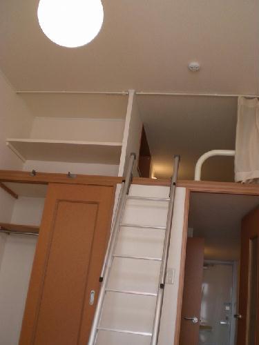 レオパレスリベェール 204号室のリビング