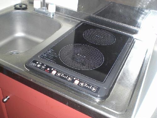 レオパレスリベェール 204号室のキッチン