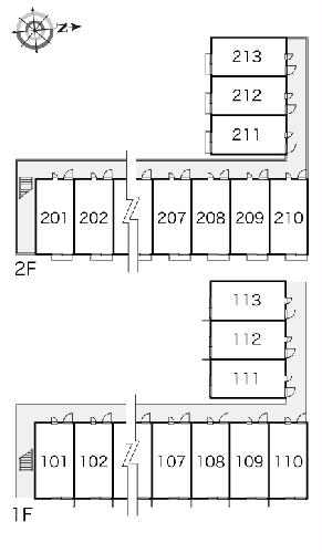 レオパレスコンプリートN 103号室のその他