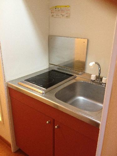 レオパレスコンプリートN 208号室のキッチン