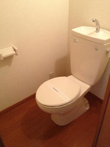 レオパレスコンプリートN 208号室のトイレ