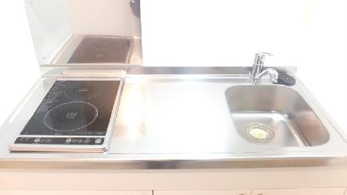 クレイノROUTE 16 302号室のキッチン