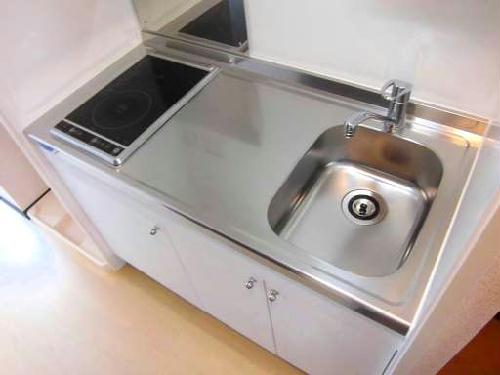 クレイノTera 304号室のキッチン