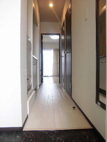 クレイノル ボヌール白岡 107号室の玄関