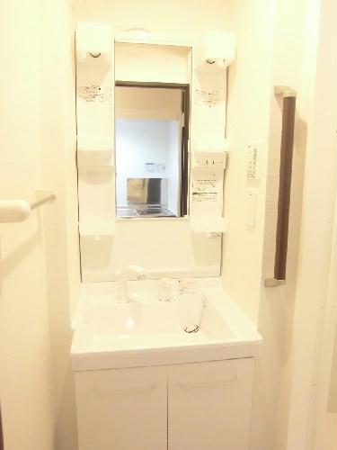 クレイノル ボヌール白岡 107号室の洗面所