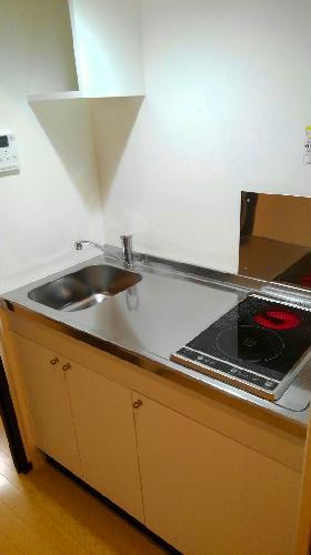 クレイノイヤサカ 102号室のキッチン