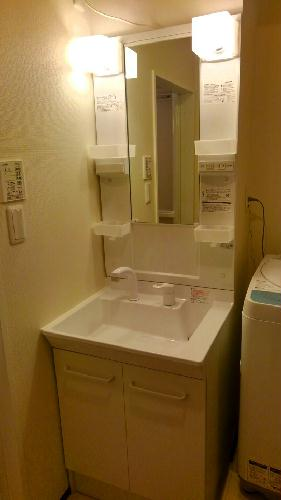 クレイノイヤサカ 102号室の洗面所