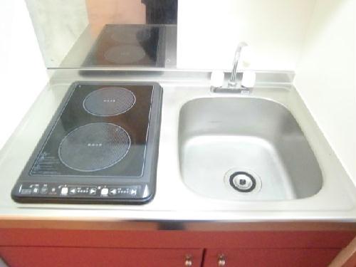 レオパレスハピネス 204号室のキッチン