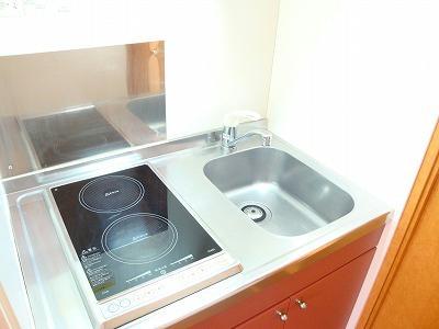 レオパレスアメニティハイツ 107号室のキッチン