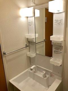 クレイノルーチェ デル ソーレ 305号室の洗面所