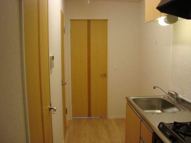パレット小泉2 105号室のキッチン