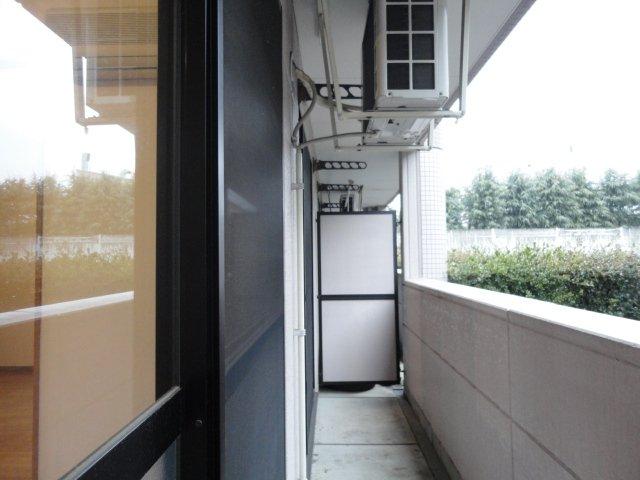 サウス・フォレストA 00103号室のバルコニー