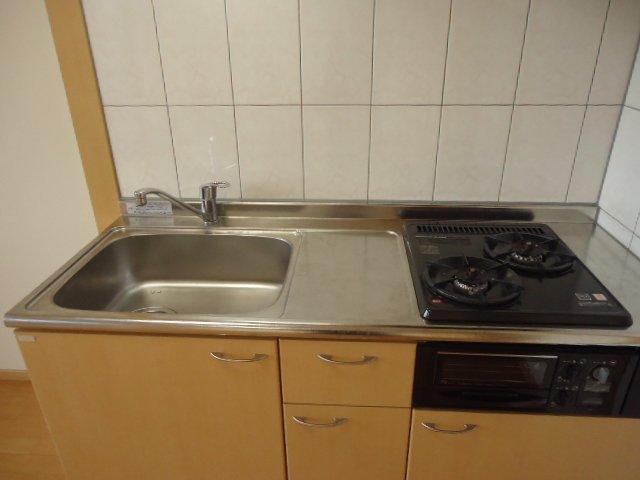 グランディール 00101号室のキッチン