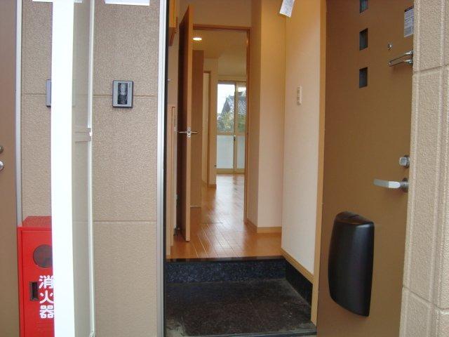 エスポアール 00101号室の玄関
