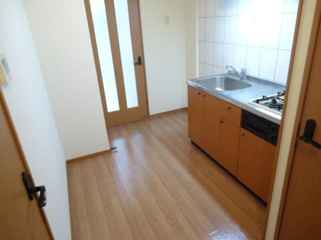 クレバー 103号室のキッチン