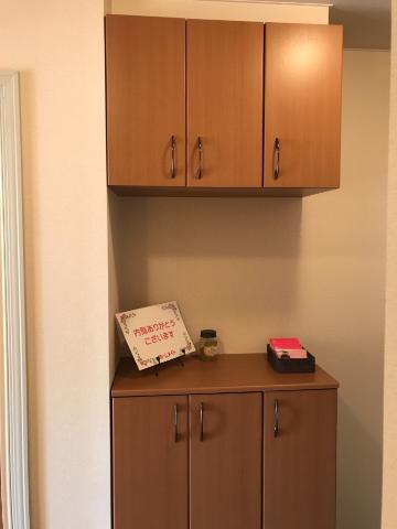 サンジュールイーストB 00102号室の収納