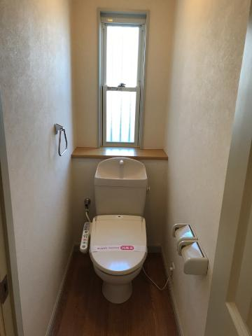 サンジュールイーストB 00102号室のトイレ
