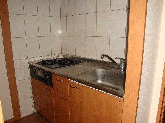 エルシオンⅢ 108号室のキッチン