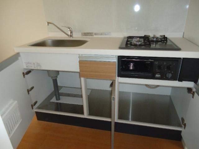 COTY 202号室のキッチン