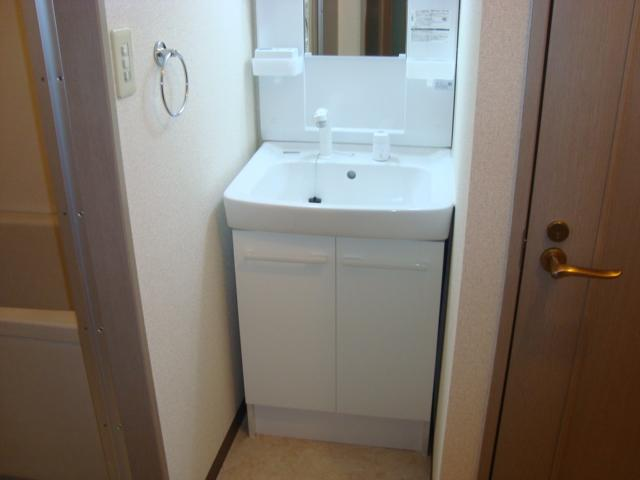 レジデンス梶ヶ谷 00202号室の洗面所