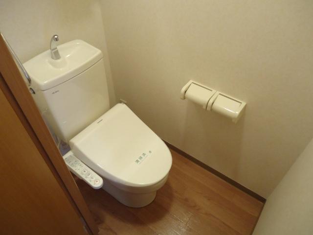 ビッグアップル 201号室のトイレ