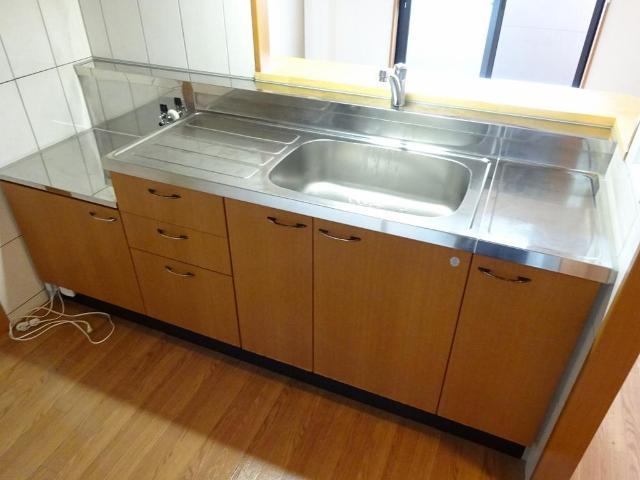 エクセルレモン 203号室のキッチン
