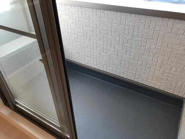 ルミナス 205号室のバルコニー