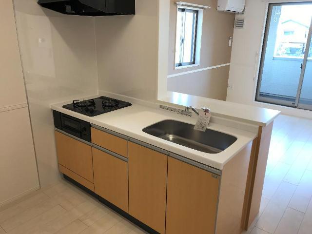 ルミナス 205号室のキッチン