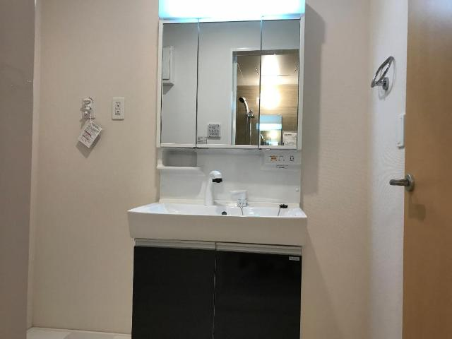ルミナス 205号室の洗面所