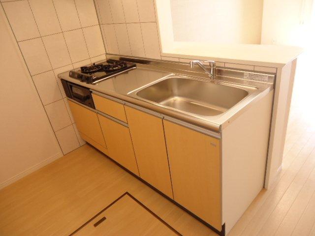 サニーヴィレッジ 00103号室のキッチン