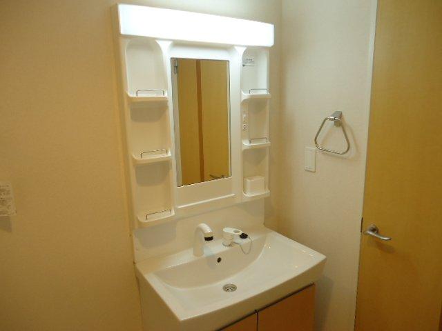 サニーヴィレッジ 00103号室の洗面所