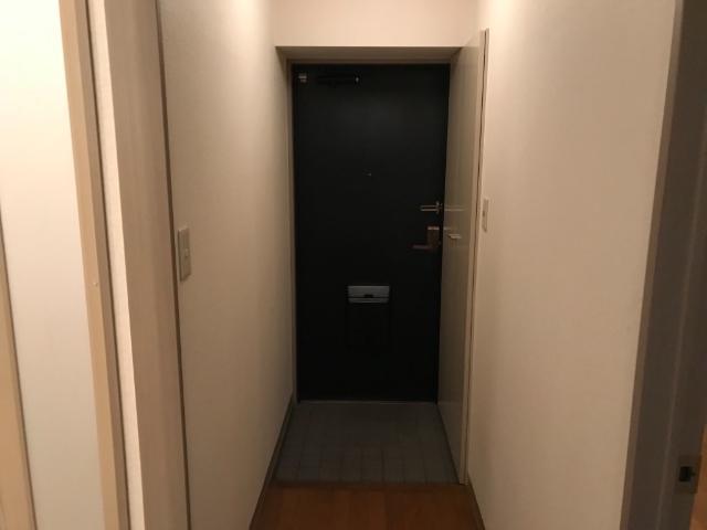 ロイヤルヒルズ 206号室の玄関