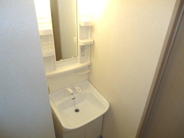 リヴィエール 00101号室の洗面所