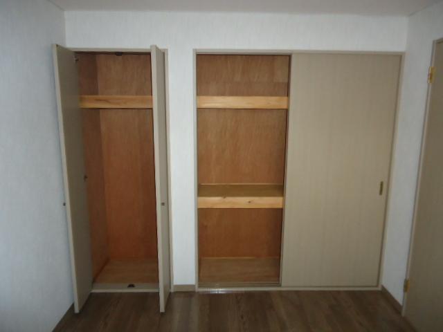 リヴィエール 201号室の収納